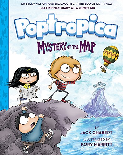 Mystery of the Map (Poptropica Book 1)