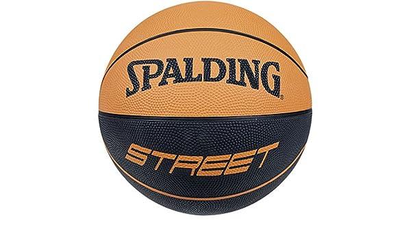 Balón de baloncesto de Spalding NBA Street soft touch rubber ...