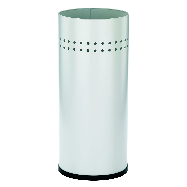 Kela 321365 LINDA - Paragüero metálico, color blanco