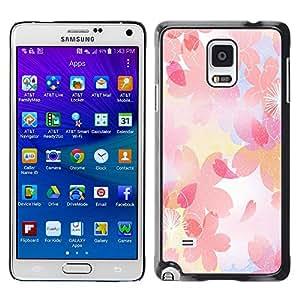 - Wisedeal Retro Stripe Flower - - Fashion Dream Catcher Design Hard Plastic Protective Case Cover FOR Samsung Galaxy Note 4 Retro Candy
