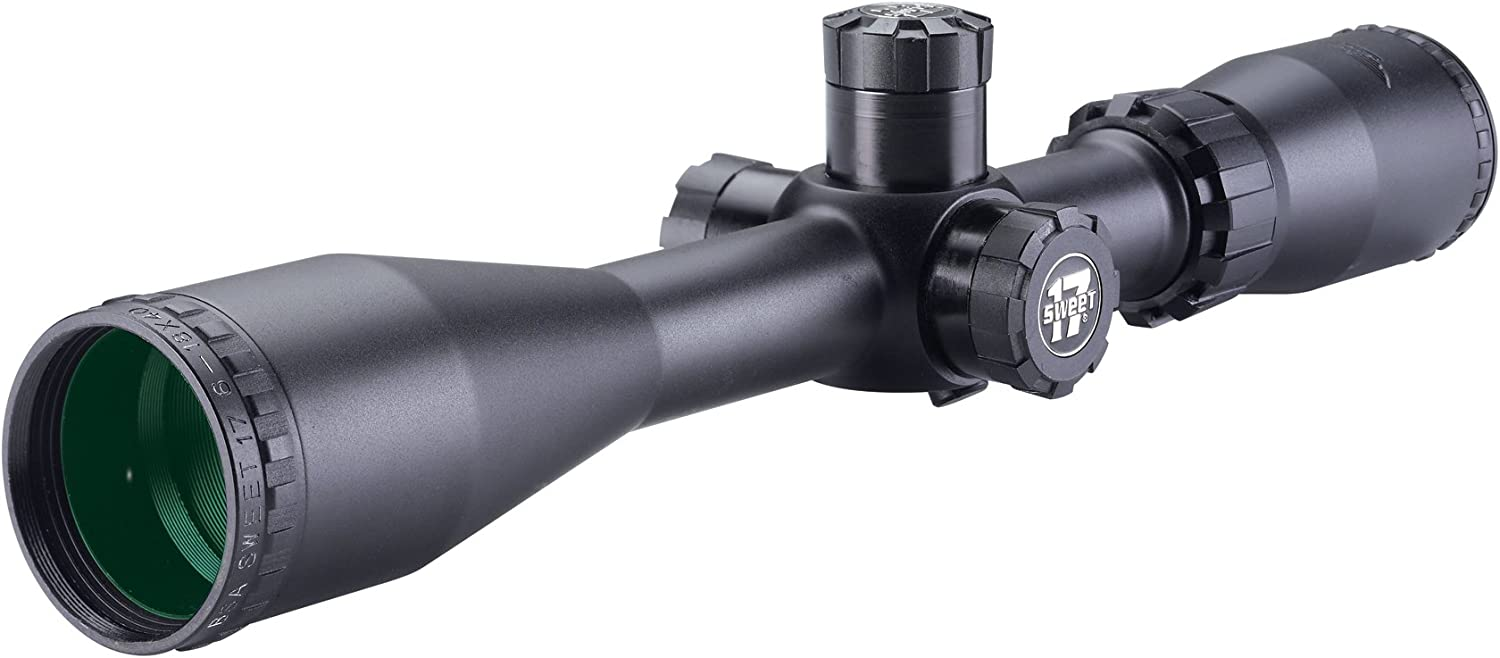 BSA S17-618X40SP 6-18X40 Sweet 17 Rifle Scope with Side Parallax Adjustment and Multi-Grain Turret