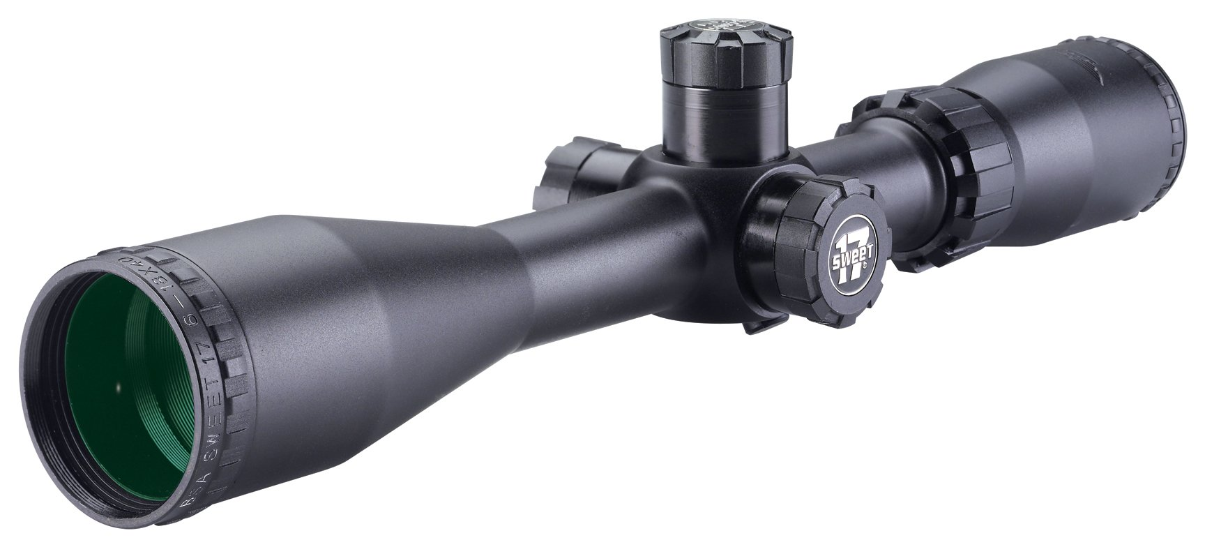 BSA S17-618X40SP 6-18X40 Sweet 17 Rifle Scope with Side Parallax Adjustment and Multi-Grain Turret by BSA