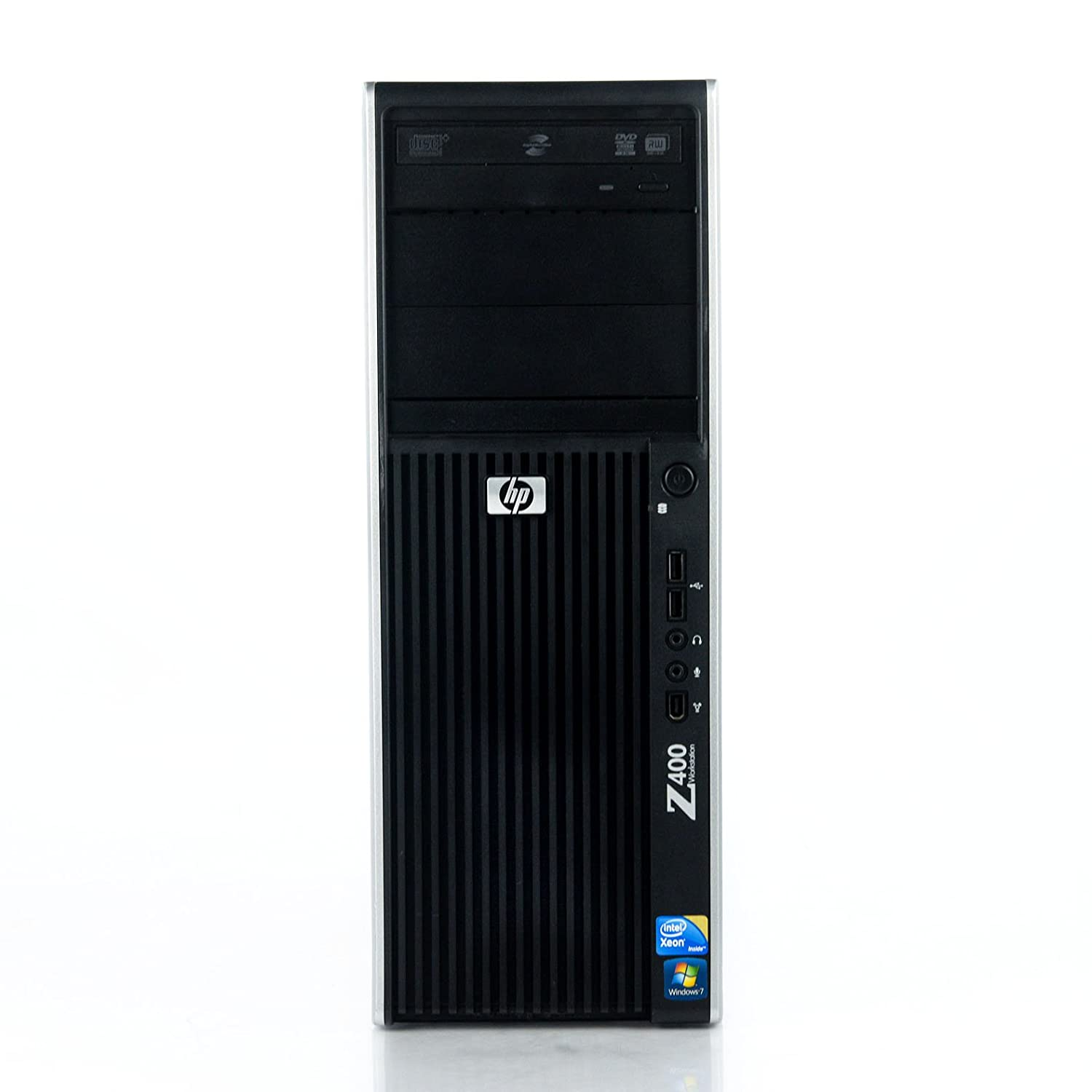 HP Z400 Workstation Xeon Quad-Core W3565 3 2GHz 8GB 1TB Win 7 Pro