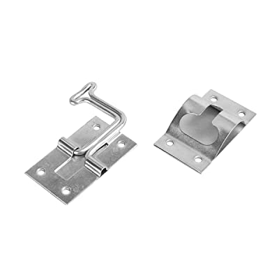 RV Designer E277 Stainless Steel T-Style Entry Door Holder - Angled 90°: Automotive