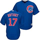Majestic Kris Bryant Chicago Cubs Youth Cool Base Alternate Blue Replica  Jersey 99dc6fb3b