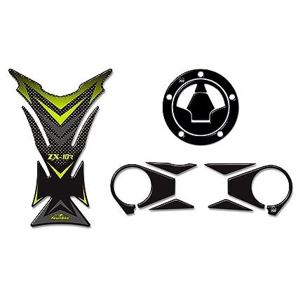 Kit Completo Adhesivos 3D Compatible con Kawasaki Ninja ...