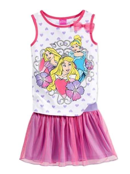 Amazon.com: Disney Princess bebé & Girls rosa y morado ...