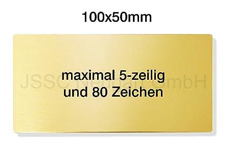 JSSC Neugart GmbH graviertes latón Pulido Placa Placa para ...