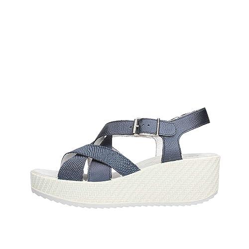 ENVAL Soft Pelle 84522 Blu Sandalo  Amazon.it  Scarpe e borse ca505c4ab22
