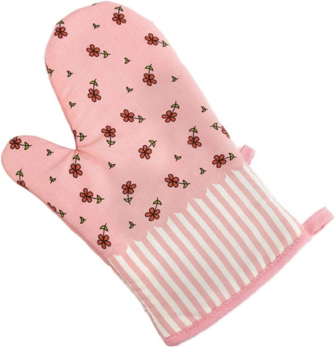 1 Pcs Cooking BBQ Grill Glove Oven Mitt Baking Glove Heat Resistant Silicone Kitchen Oven Glove,1280p 28x18cm