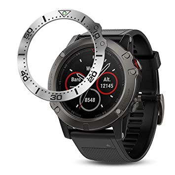Amazon.com: Yuege Stainless Steel Bezel Ring for Garmin ...