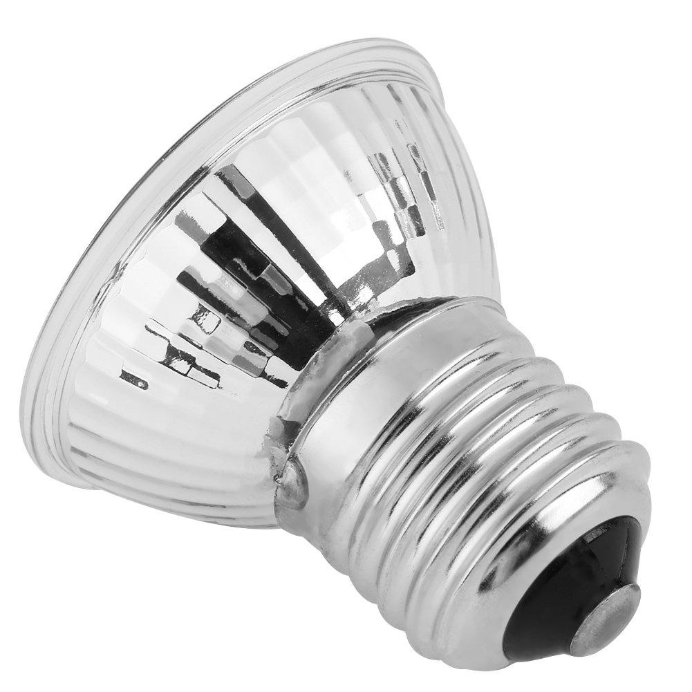 25W Fdit Bombilla Luz de Calor L/ámpara de Luz de Calefacci/ón para Reptile Anfibio