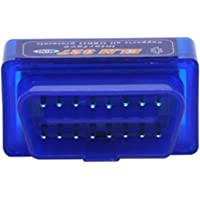 Escaner Automotriz OBD2 Bluetooth para S.O. Android y PC, se puede utilizar en los autos que tenga ODBII - Color Azul