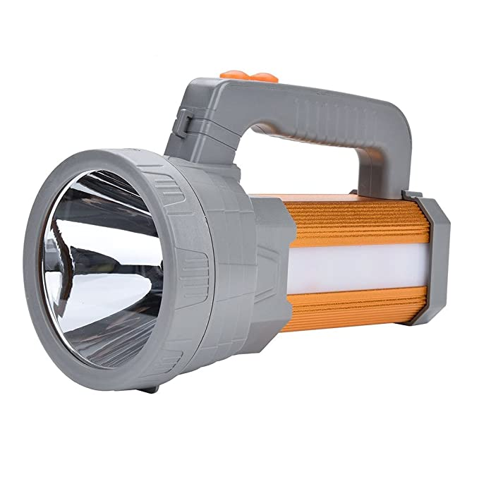 Review LED Searchlight USB Rechargeable