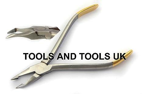 Alta calidad TC weingart/anatómica Alicates, Instrumentos Dentales chapados en oro CE