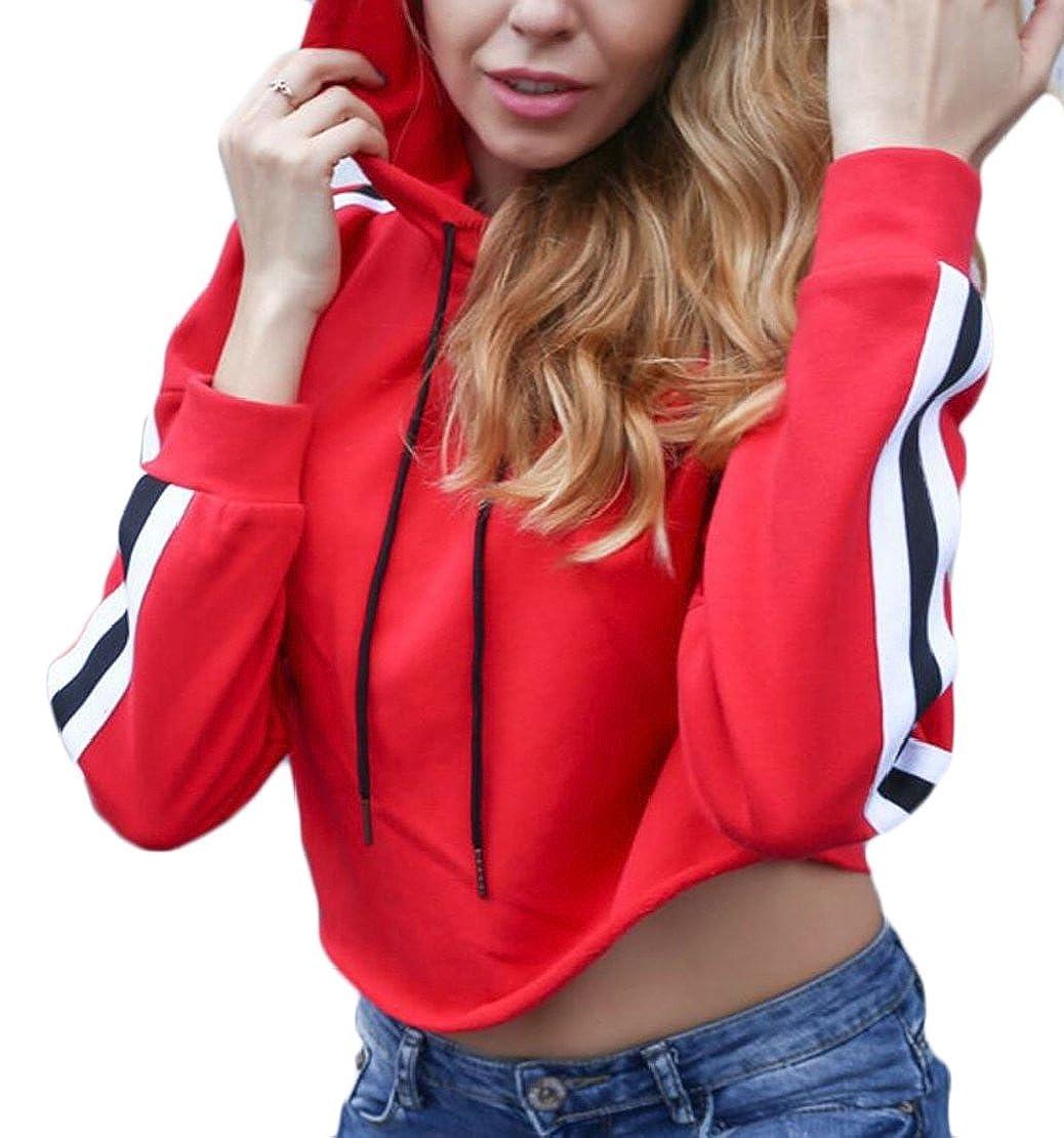 M/&S/&W Womens Hoodies Sweatshirts Long Sleeve Pullover Hooded Tops