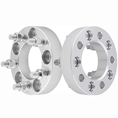 "GDSMOTU 2pc Wheel Spacers for Jeep Ford 5 Lug, 1.25"" Wheel Spacers 5x4.5 with 1/2"" Studs for 94-14 Ford Mustang,91-11 Ranger,91-18 Explorer,87-06 Jeep Wrangler,84-01 Cherokee,02-12 Liberty: Automotive"