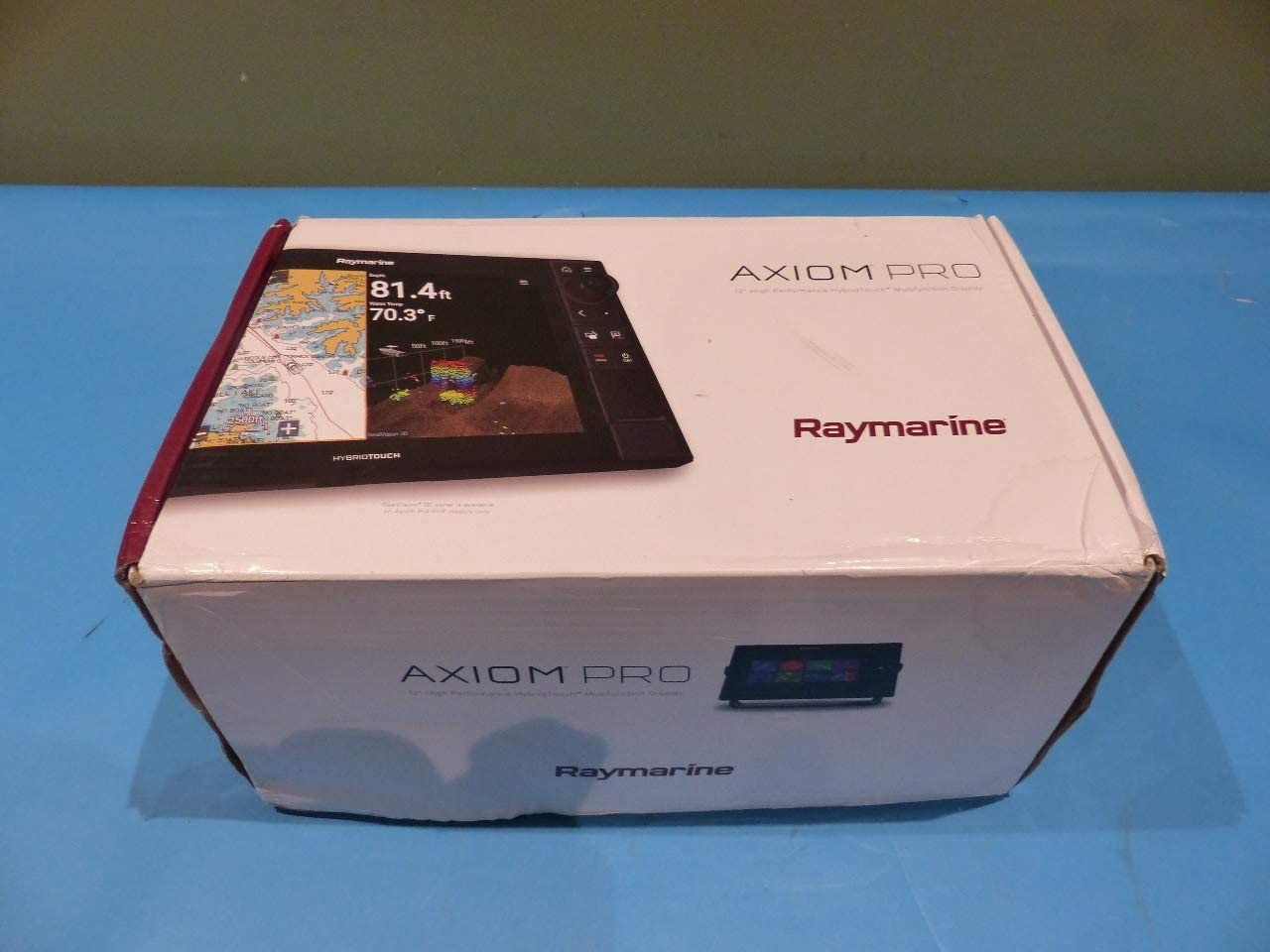Raymarine Axiom Pro 12 RVX MFD w/RealVision 3D y 1 kW CHIRP Sonar – Navionics+ gráfico: Amazon.es: Electrónica