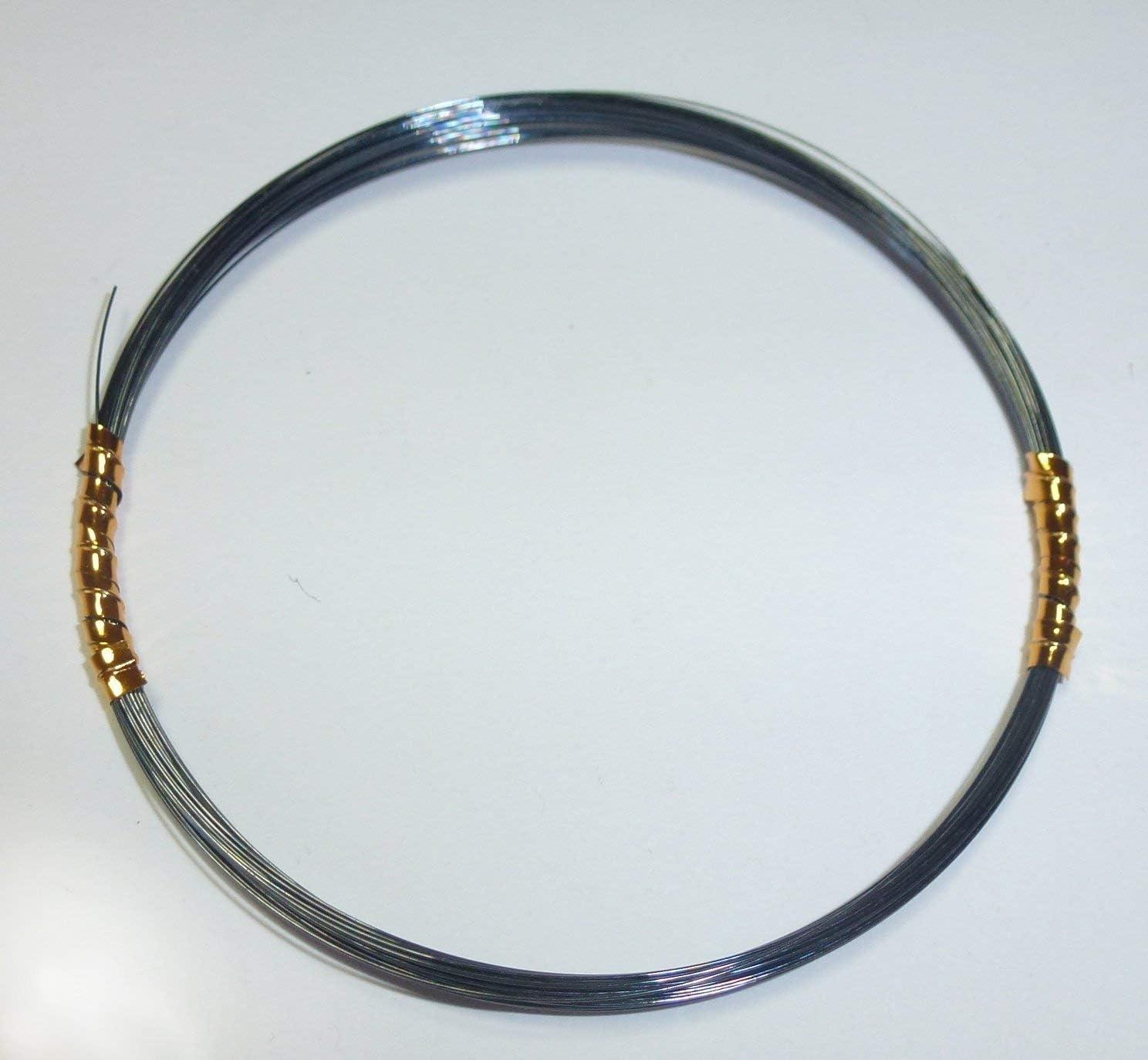 Zandervorfach Barschvorfach Awas Titanvorfach 1x1 schwarz 5m Made in USA Titanvorf/ächer Hechtvorfach