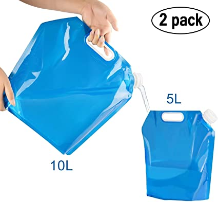 5L Collapsible Food Grade Sport Camping Water Container Water Carrier