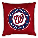 MLB Washington Nationals Not Applicabe, Bright Red, 17 x 17