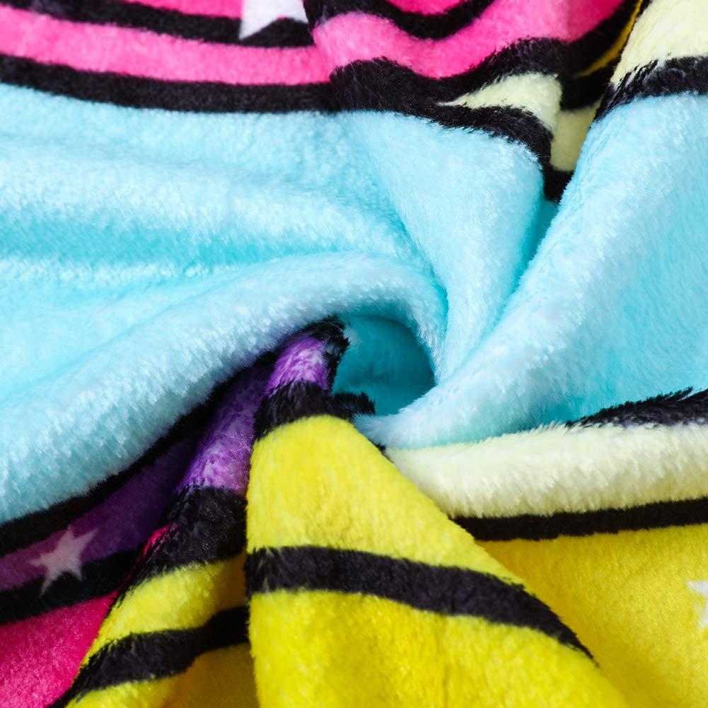 FairyShe Kids Throw Blanket Cartoon Fleece Blanket,Soft Warm Plush Sherpa Blanket For Baby,Coral Velvet Fuzzy Blanket For Bed Couch Chair Baby Crib Living Room Peppa pig