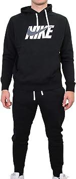Nike Sportswear Chándal, Hombre, Black/Dark Grey, S: Amazon.es ...