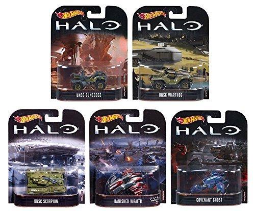 2017 Hot Wheels Retro Entertainment HALO - UNSC Scorpion, UN
