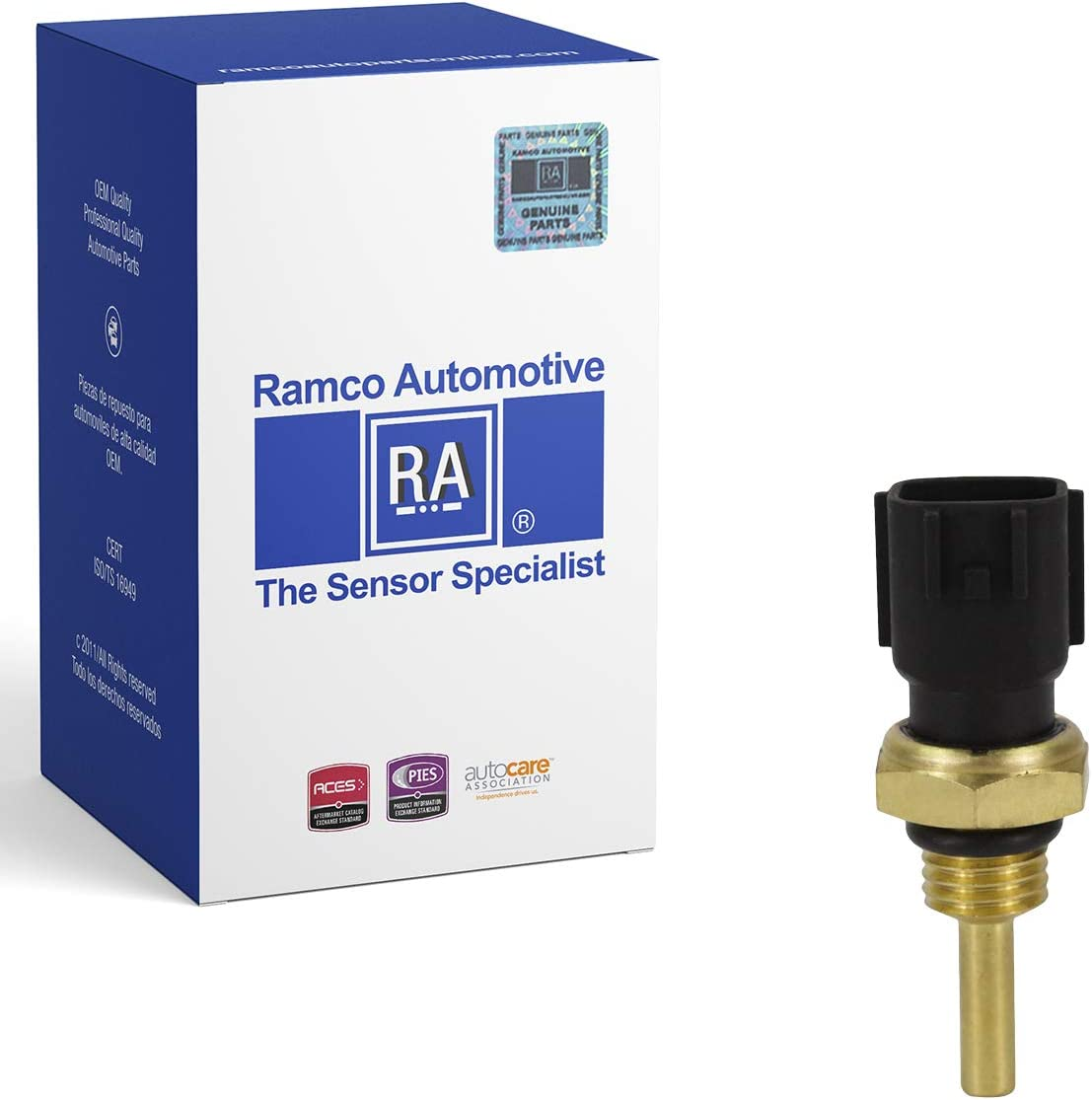 RA-TS1006 Ramco Automotive Compatible with Wells SU4072 Standard Motor Products TX78 Engine Coolant Temperature Sensor
