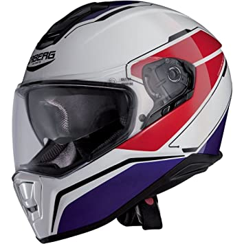 Caberg Drift Full Face casco de moto – Tour blanco/rojo/azul
