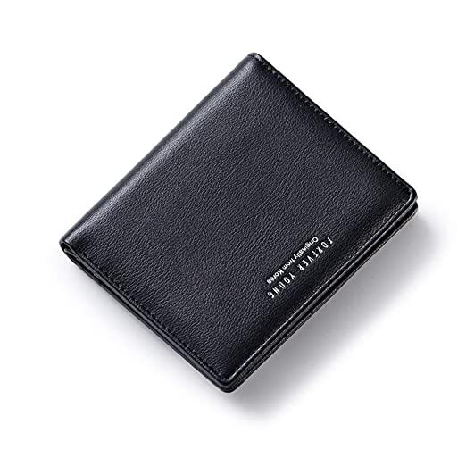 New Arrival Mens Wallet Short Thin Wallet Money Purses With Flip Up Id Window Short Korean Wallet Mens Fashion Accessories Men's Bags Luggage & Bags