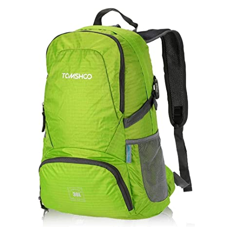 TOMSHOO 30L Foldable Backpack Ultra Lightweight Packable Backpack for  Outdoor Travel Trekking Daypack b89bc254c07ab