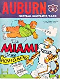 img - for Auburn Football Illustrated: The Miami Game Homecoming October 1968 book / textbook / text book