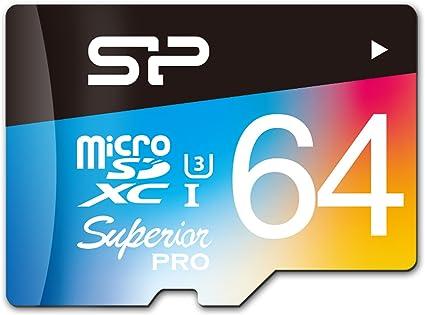 Sp Silicon Power 64gb Superior Pro Microsdhc Uhs 1 Computer Zubehör
