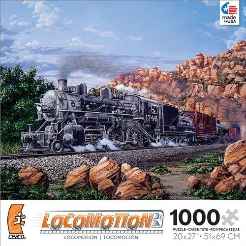 Run 1,000 Piece Puzzle (Locomotion: Morning Run - 1000 Piece Jigsaw)