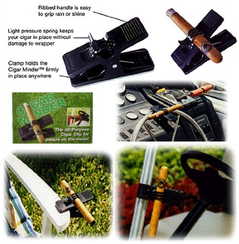 12 Cigarminder All Purpose Cigar Clip Protects your CIGARS