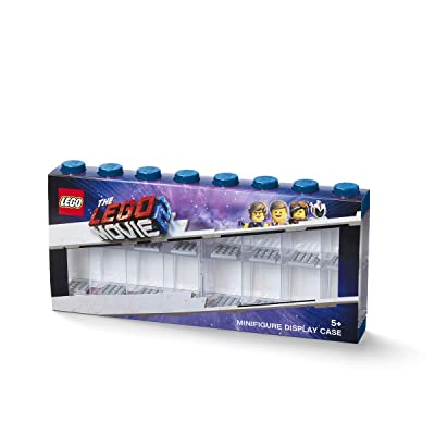 Room Copenhagen Minifigure Display Case, Large, Lego Movie Sleeve-Blue: Home & Kitchen
