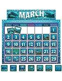 Teacher Created Resources Classroom Calendar Bulletin Board from Wyland (4386)