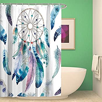 Amazon Com Xinhuaya Native American Decor Shower Curtain