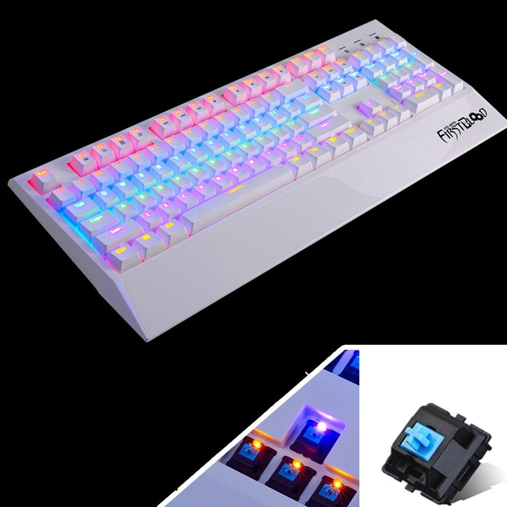 L&Y Gaming-Tastaturen Mechanische Tastatur USB-Tastatur mit Kabel ...