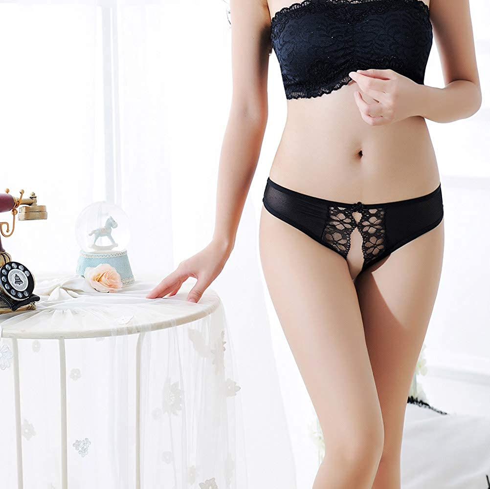 Women's Sexy Floral Undies Lace Panties G-String Thong Lingerie Underwear