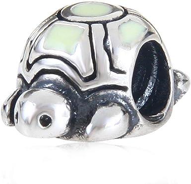 Breloque tortue de mer en argent sterling 925 pour bracelet Pandora