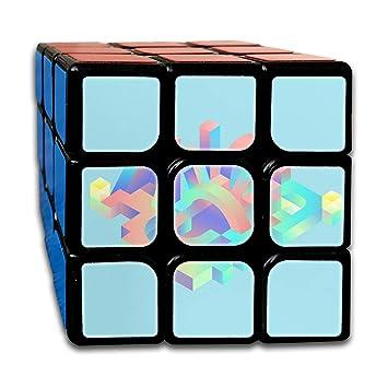 Amazoncojp Bsotfy 3x3 ルービックキューブ 抽象的イラスト 滑らかな