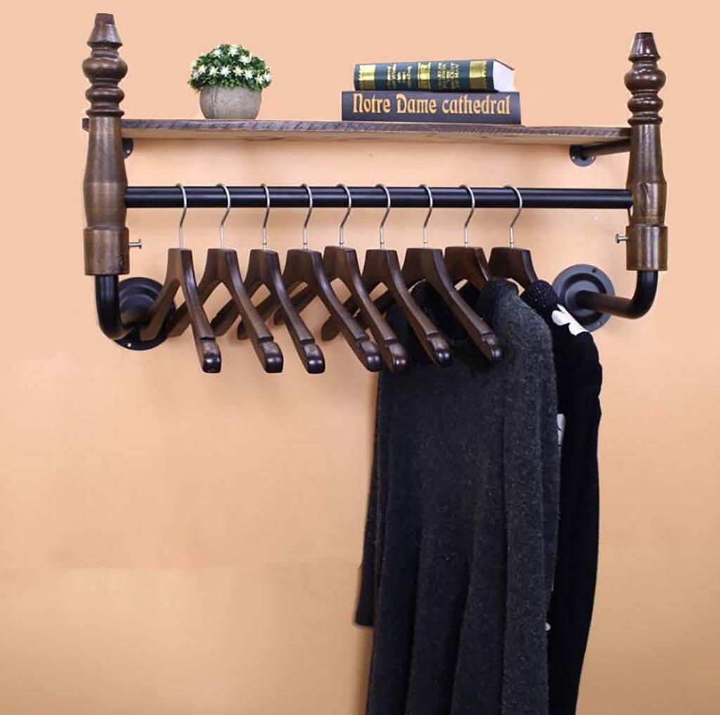 ウォールラック衣料品店ハンガー壁衣類ラック装飾ラック壁掛け衣類ディスプレイラック (色 : A, サイズ さいず : L85*W24*H45CM) L85*W24*H45CM A B07R29DSW2
