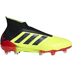 929e3f082f8 adidas Men s Predator 18+ FG Firm Ground Soccer Cleats