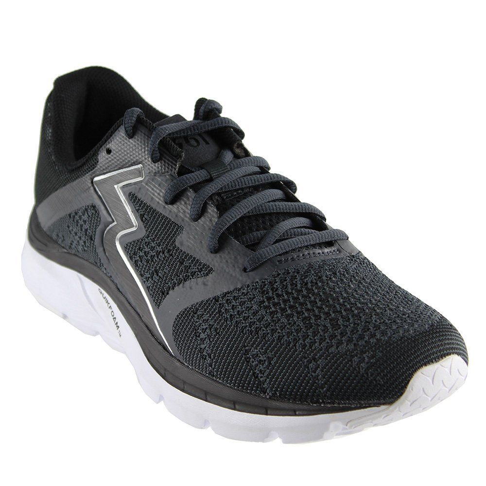 361 Men's Spinject Running Shoe B0758DLXNG 13 D(M) US|Black