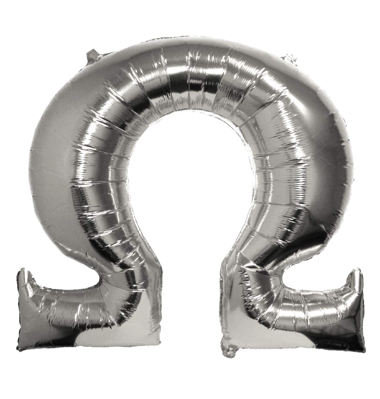 Amazon.com: Omega   Greek Letter Balloon   Silver: Toys & Games