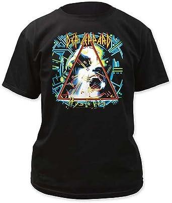 582a12bb ill Rock Merch Def Leppard Hysteria T-Shirt: Amazon.co.uk: Clothing