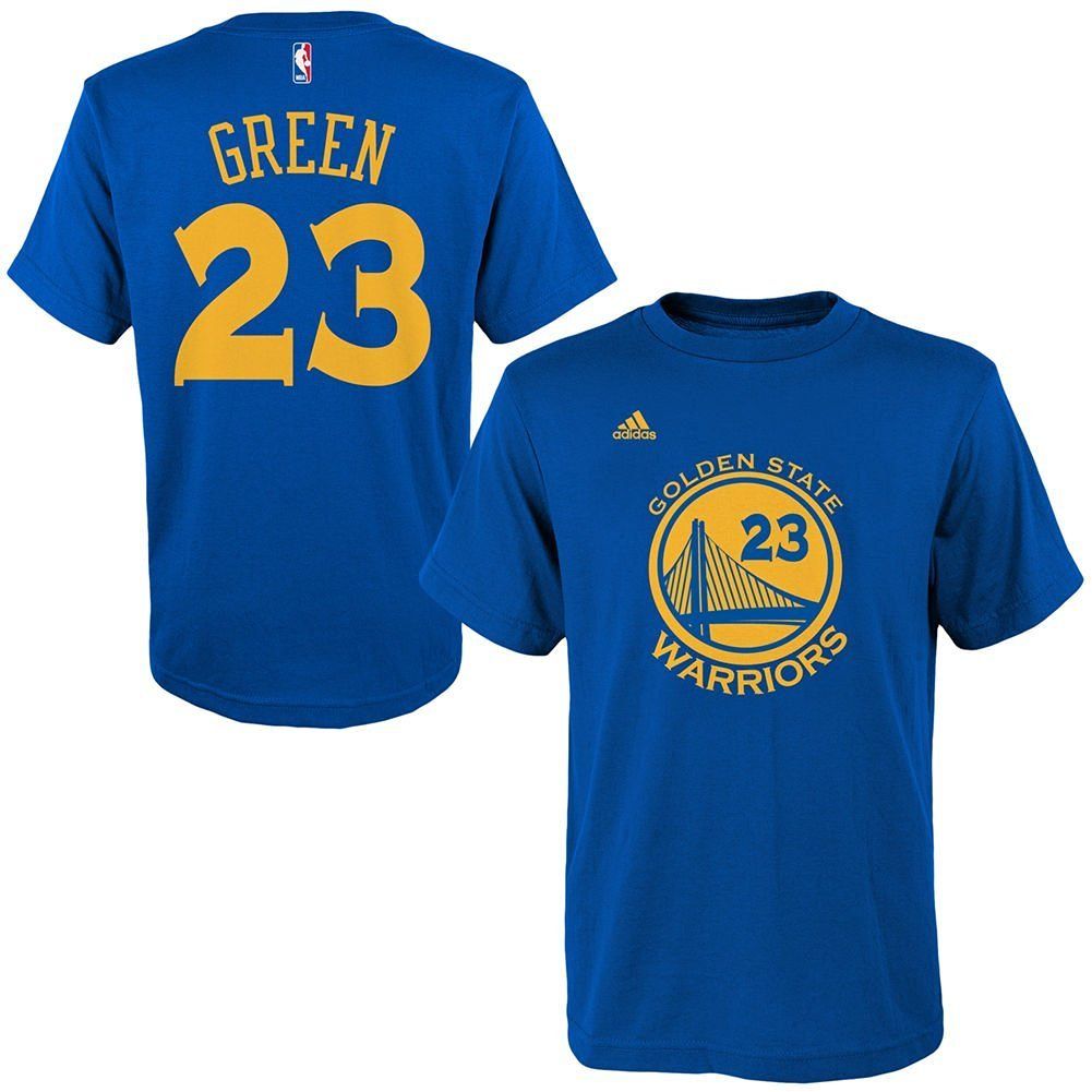 Youth Golden State Warriors Draymond Green adidas Royal