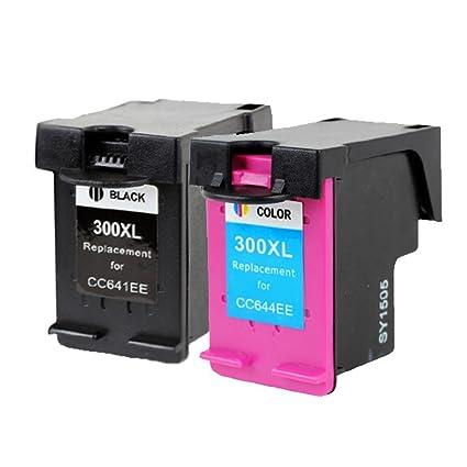KA® 3 Cartuchos de impresora como repuesto para HP 300 XL ...